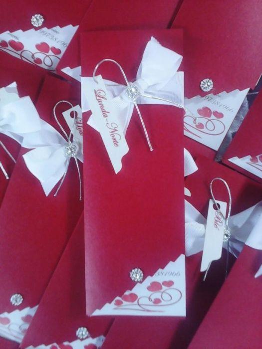 SUPER PROMOÇÃO - Convite económico para casamento Serra-Sul - Caliandr