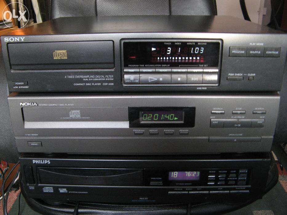 cdplayer Sony cdp-k1a, cdp-m26, Philips AK630, Nokia 8902cd