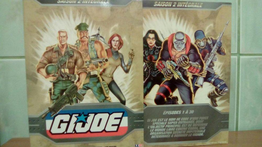 GI Joe Box Set 5 Dvd Anime Sezonul 2
