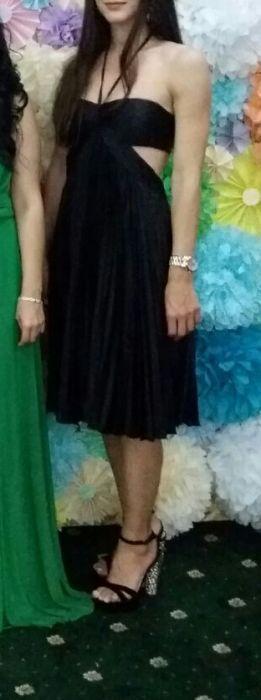 Rochie ocazie neagra eleganta