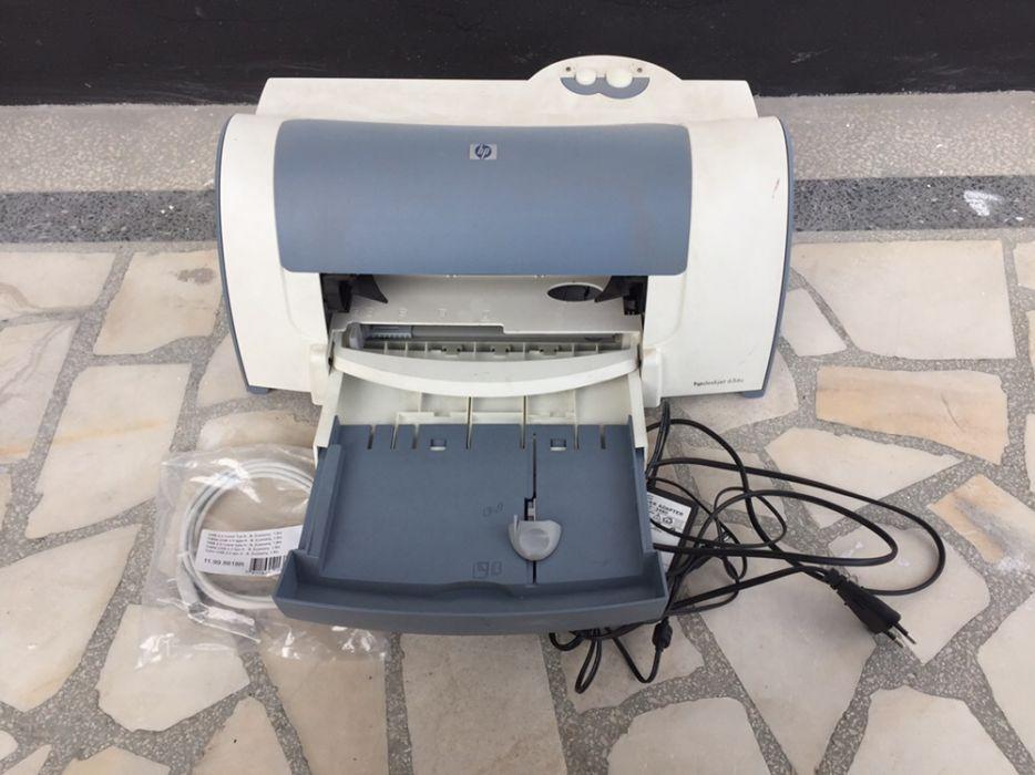 Скенер BenQ и Принтер HP