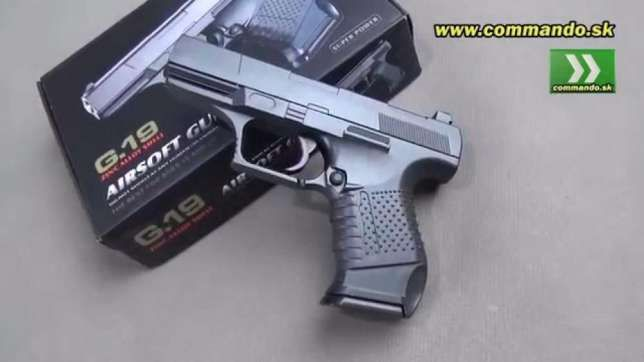 Pistol PUTERNIC (REALI ST) *Full Metal* ARC p99dao full Airsoft GazCO2