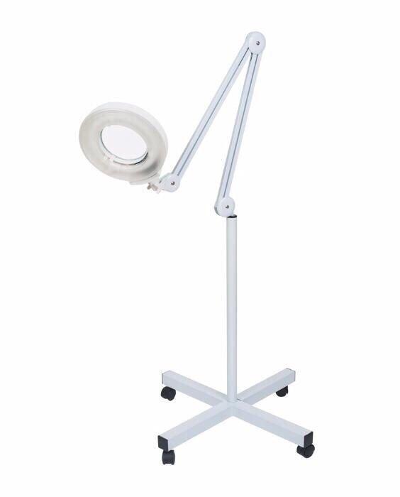 Lampa cu LED si LUPA cosmetica profesionala | Lupa mobila Lumina rece