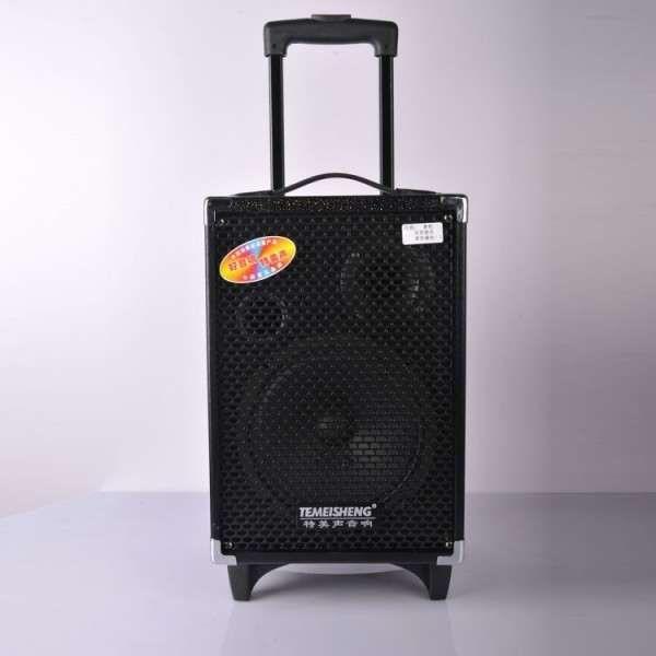 Boxa audio portabila USB si SD Card Karaoke MP3 Temeisheng A8