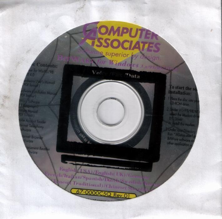 Computer Associates : BitWare (CD)