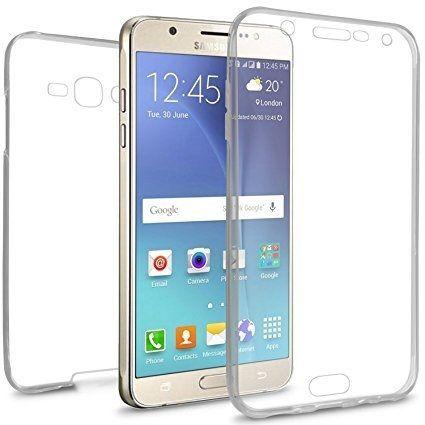 Husa Silicon 360 Fata Spate Transparenta Samsung J5 J7 2016, 2017