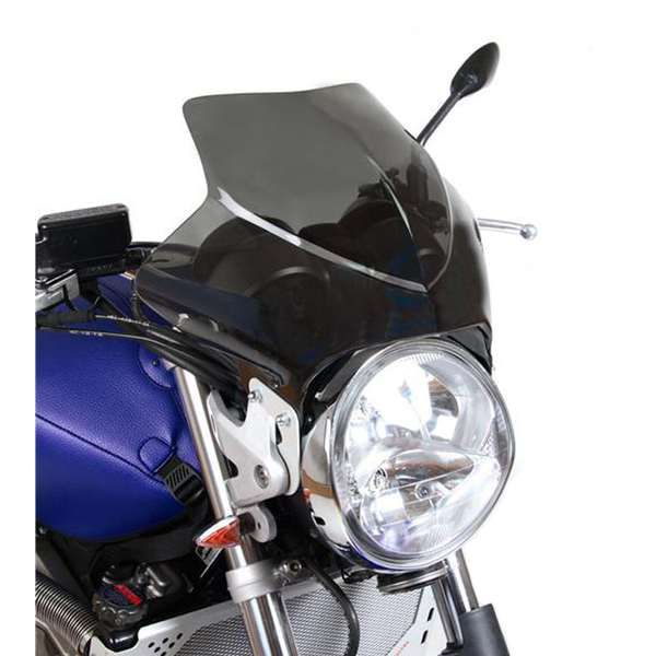 Parbriz moto Naked BARRACUDA pt far rotund Hornet Bandit Ducati etc..