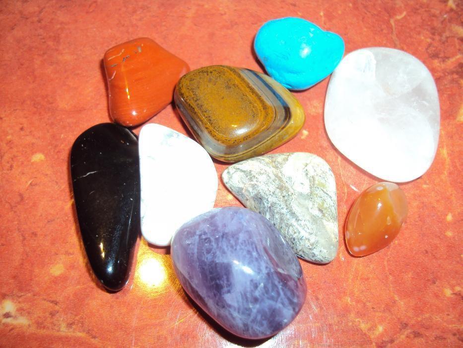 Полускъпоценни камъни-Различни видове
