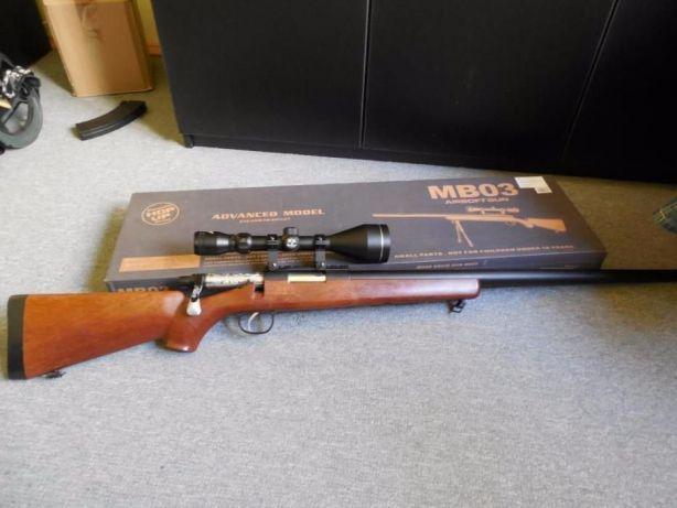 Pusca MANUALA cu aer comprimat Sniper (Ultra Puternica!! Airsoft) arc