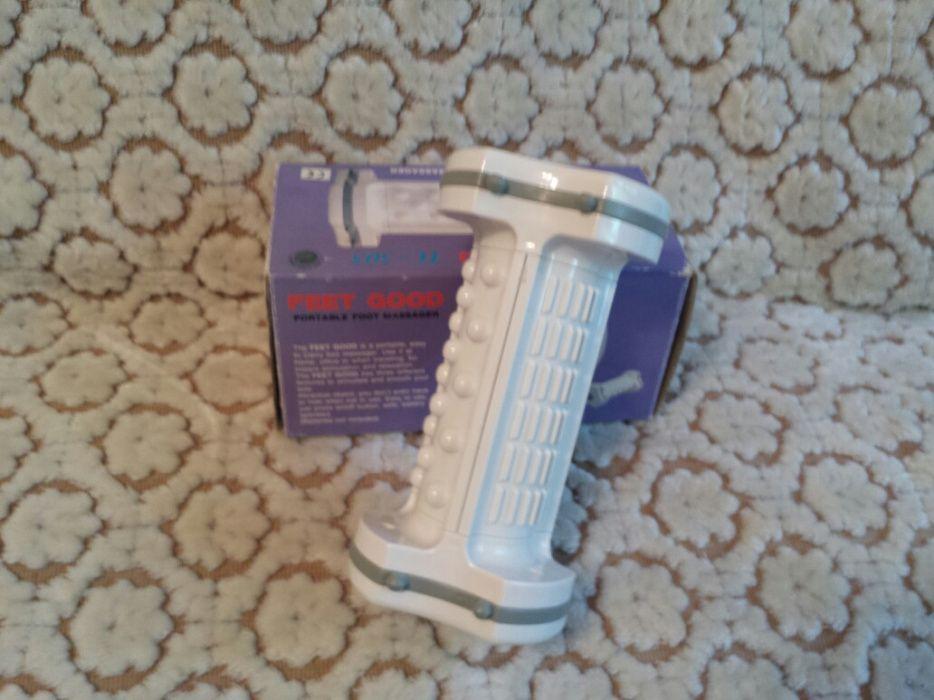 Aparat portabil pe baza de baterii pentru masaj picioare