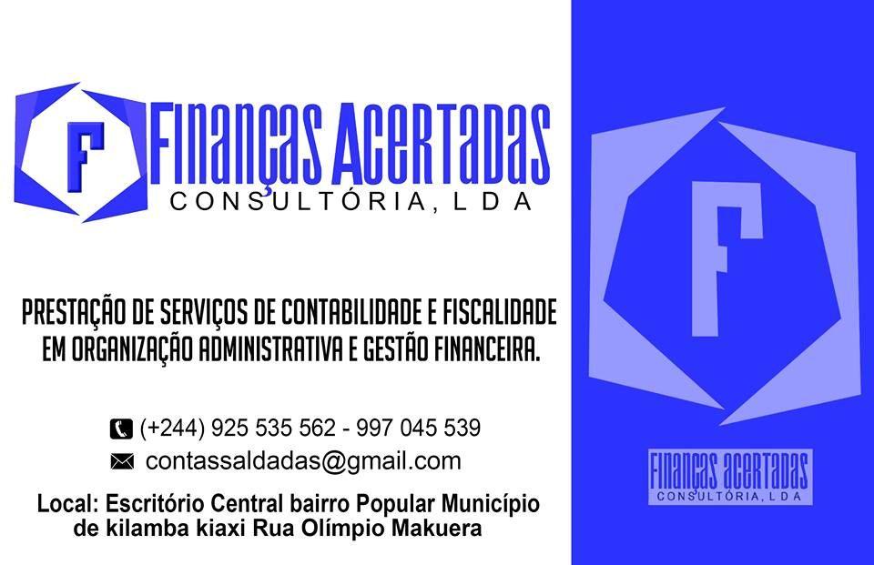 Serviços de Contabilidade, Fiscalidade, Auditoria, Consultoria, etc.