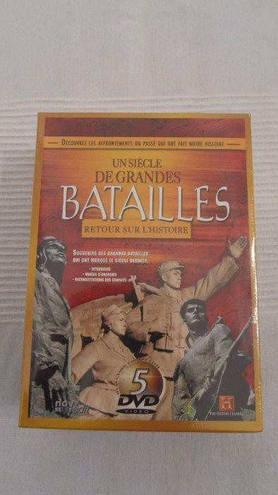 Set 5 DVD originale sigilate Secolul marilor batalii History Chanel