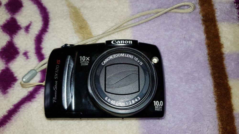 Aparat / camera foto Canon SX 120 IS + *husa