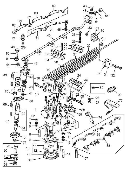 piese pentru motoare perkins