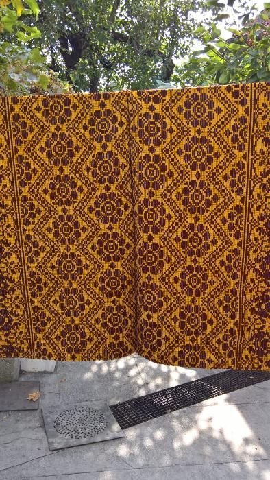 cuverturi de pat tesute manual din lana