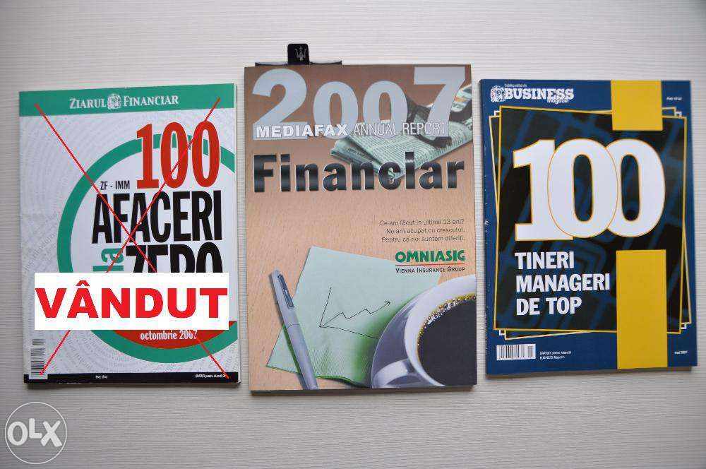 Revista Report Financiar si catalog Business Magazin 2007