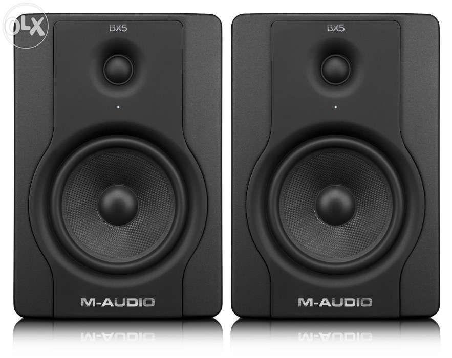 Par de Colunas de estúdio M-Audio bx8