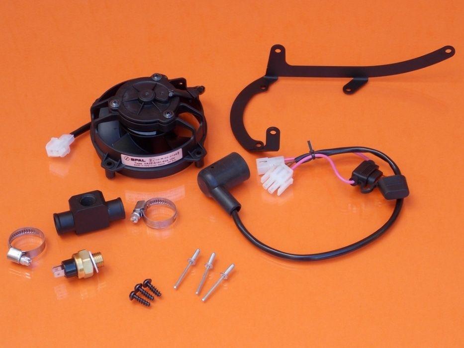 Ventilator moto enduro/KIT Ventilator KTM complet cu accesorii