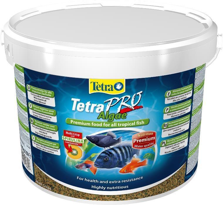 """Корм для рыб TetraPro Algae 10л в """"Живом Уголке"""" в Таугуле"""