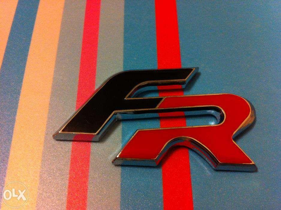 emblema Seat leon FR (spate) ABS