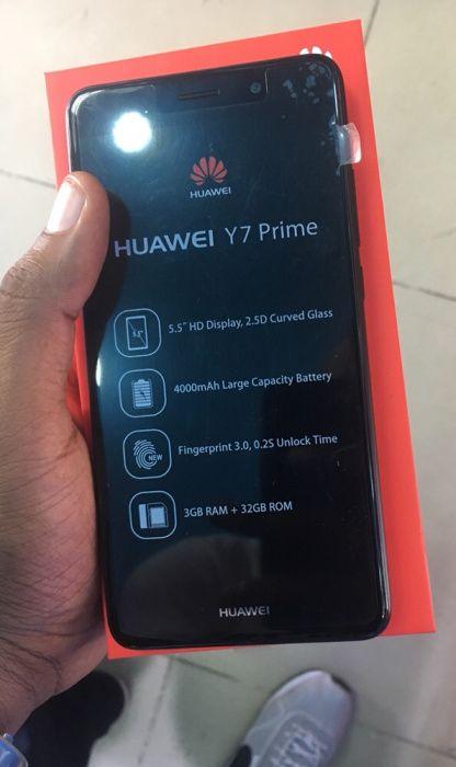 Huawei y7 prime 32gb selado