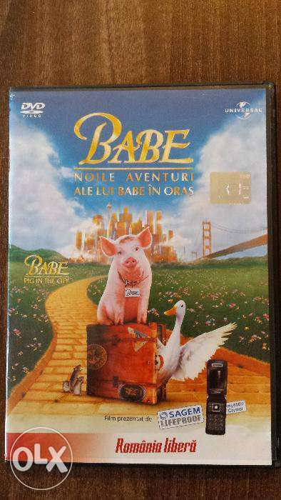 DVD Noile aventuri ale lui Babe in oras (Babe Pig in the city)