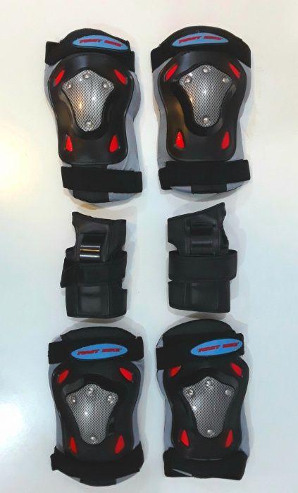 SET PROTECTIE PEMIUM FIRST pentru Role, Skateboard - NOU