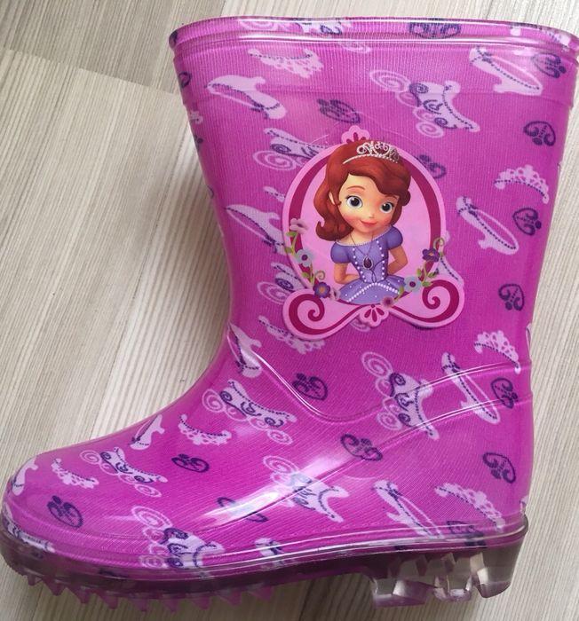 Cizme cauciuc/ploaie Disney Sofia Intai Minnie Mouse 8,9uk Noi