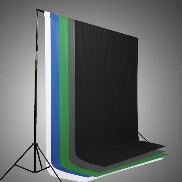 Fundal studio panza 3x6m, verde, alb, albastru, negru, rosu, gri