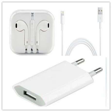 Iphone 5 5S 6 6S Plus Incarcator Cablu Usb Casti