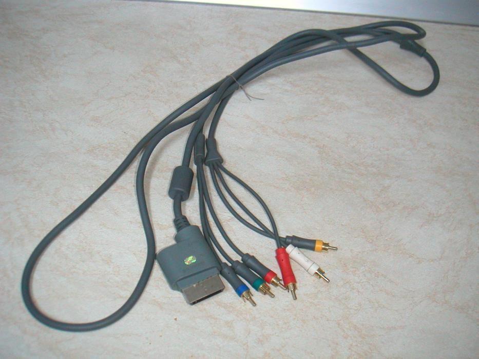 Cablu Component AV/HD cu 6 RCA Xbox 360 si Xbox Slim