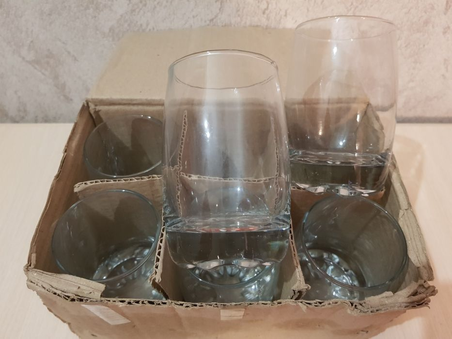 Набор стаканов 6 штук. Стаканы