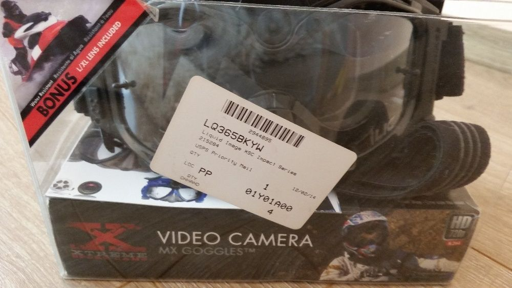 Ochelari cu inregistrare video Liquid Image XSC 365BKYW