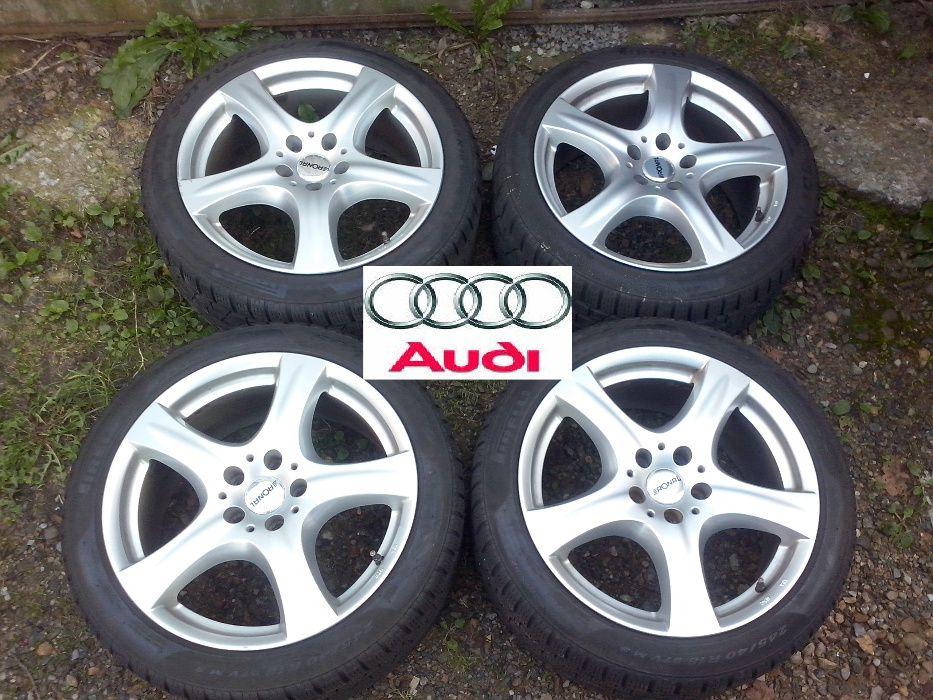 """Jante Audi A6 pe 18 """"+ Anvelope de Iarna Pirelli 245 40 R18"""