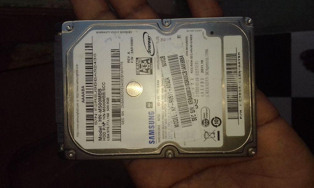 disco duro de 500gb pra laptop ainda clean Bairro - imagem 1