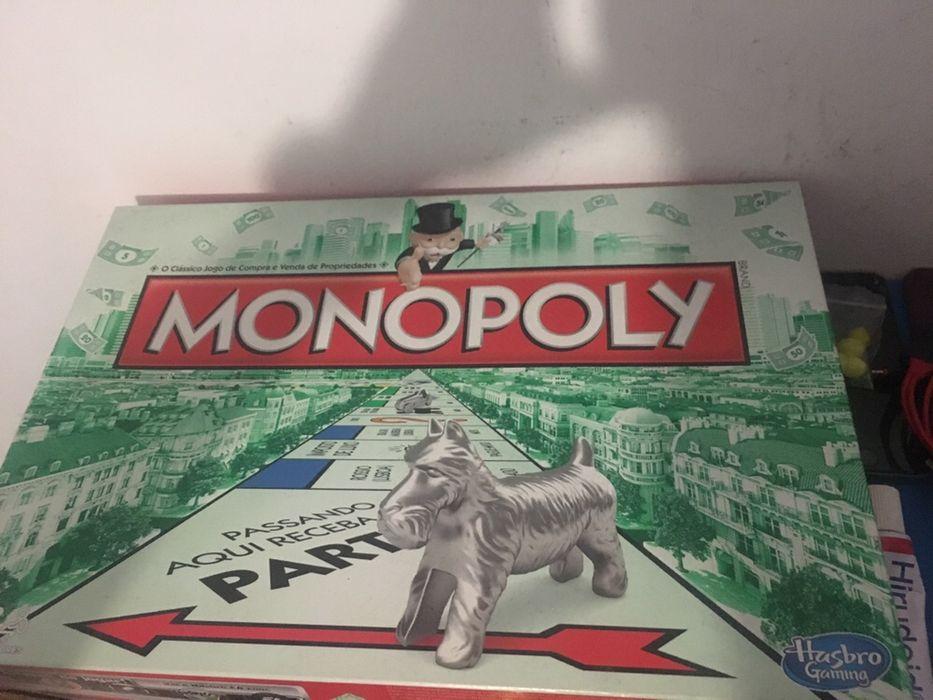 Monopólio jogo de tabuleiro