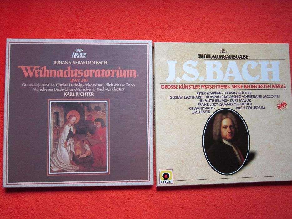 vinil colectie J.S.Bach -Christmas Oratorio 3LP + Jubiläumsausgabe 3LP