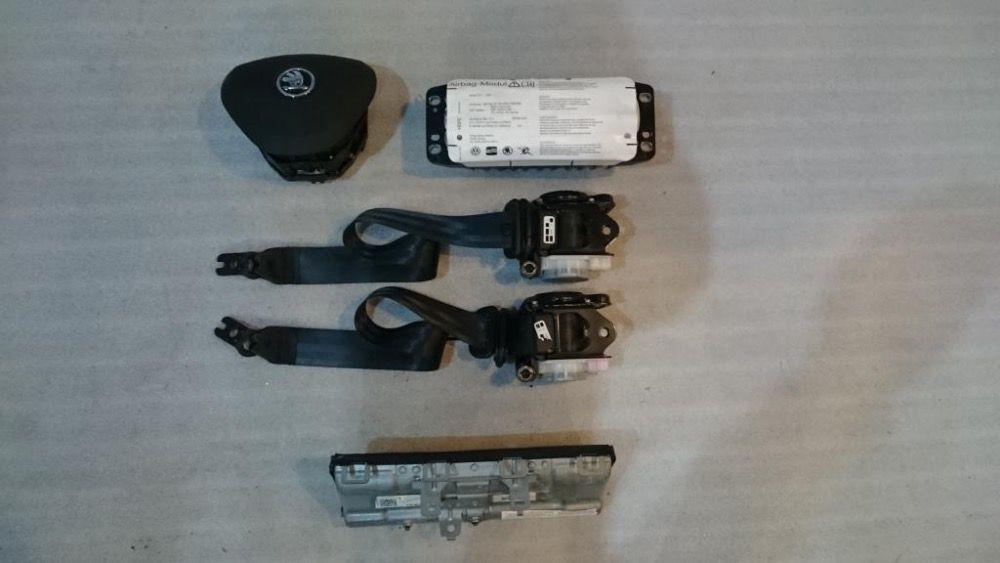 KIT Airbag Skoda Octavia III 3 Rapid si Superb 2012+