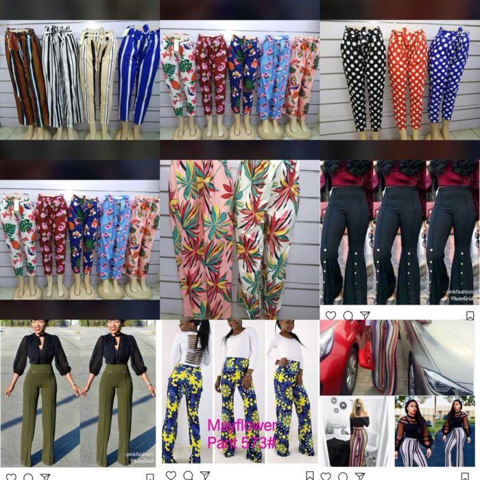 Calças Pantalonas