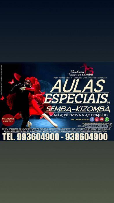 Aulas especiais de dança
