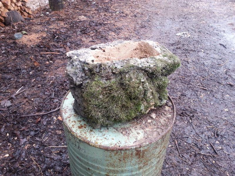 кашпи от естествен камък (бигор)