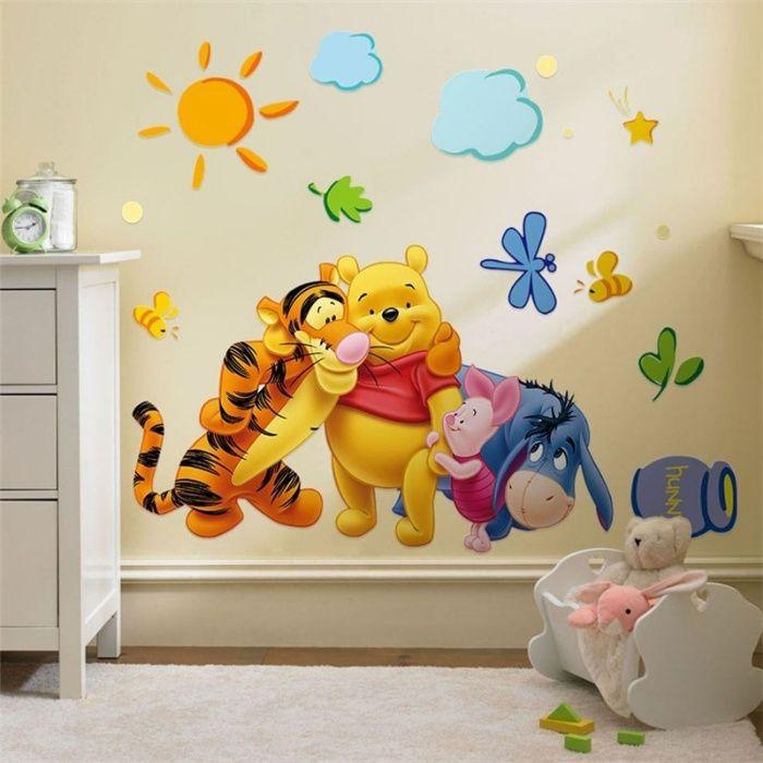 STICKER perete personaje Winnie the Pooh DESENE ANIMATE decorativ