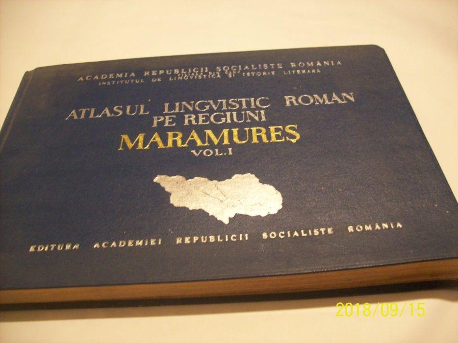atlasul lingvistic roman pe regiuni- maramures- an 1969 vol I