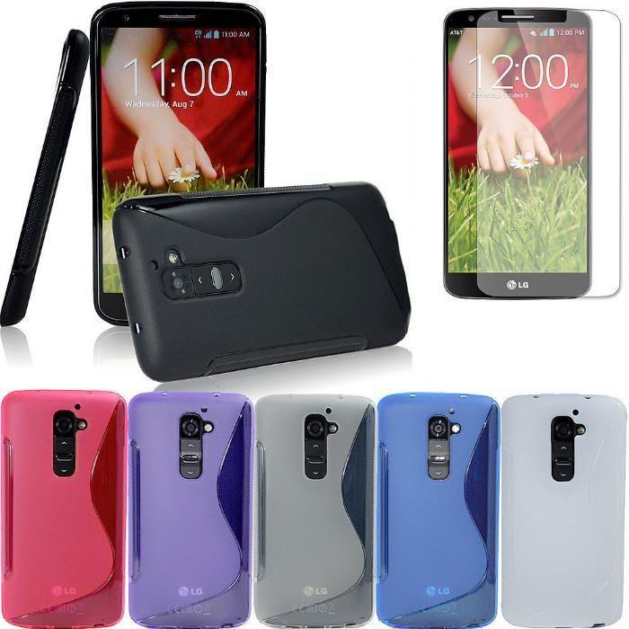 Husa LG Optimus G2 + folie + stylus G2 D802