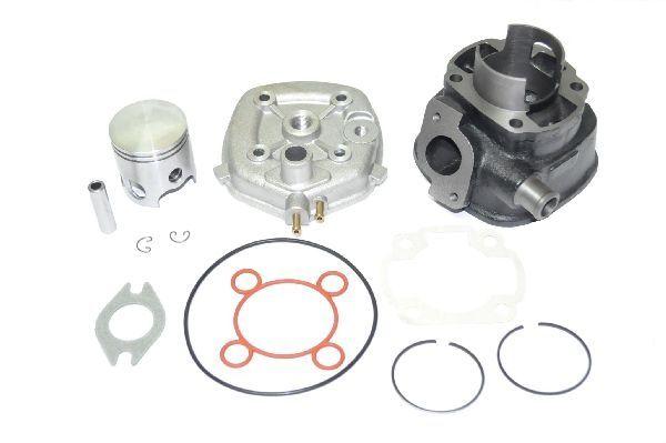 Kit Cilindru - Set Motor + Chiuloasa Scuter Aprilia SR - 49cc - 50cc