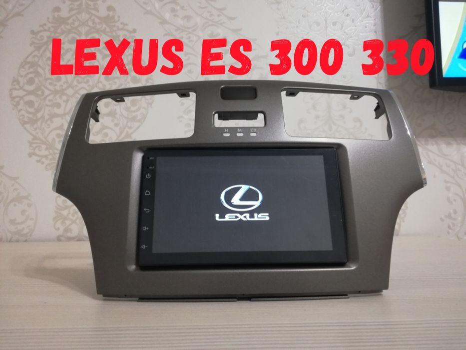 Магнитола Лексус ЕС 300 330(Lexus ES) IS 350,250,300 ШГУ