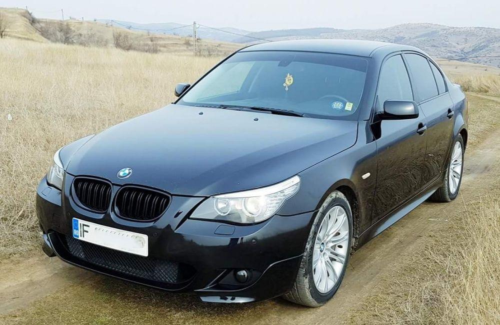 Grile duble BMW seria 5 E60 E61 M5 look - negru LUCIOS Timisoara - imagine 7