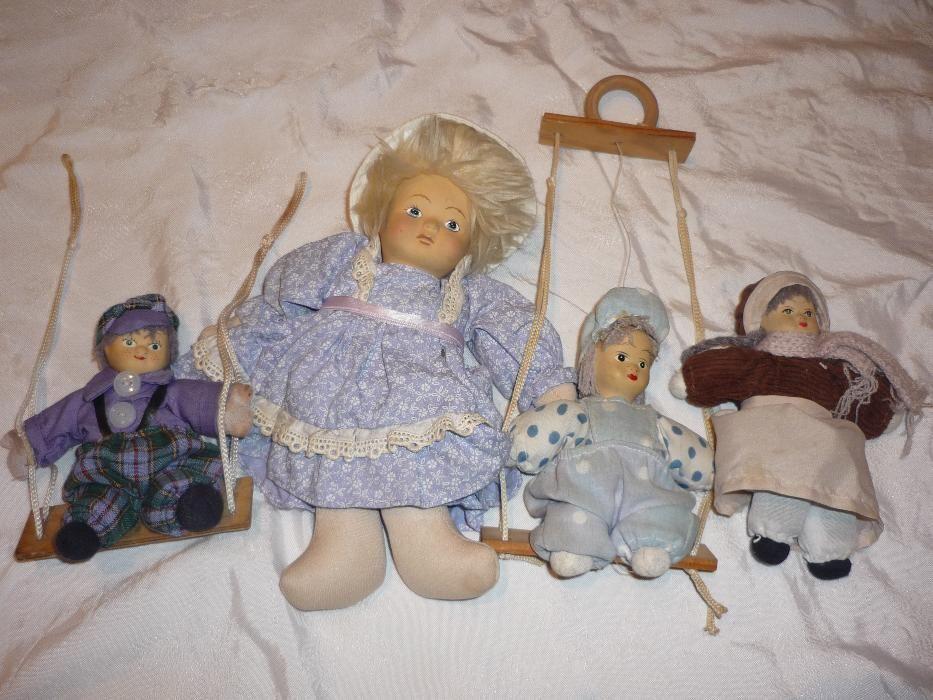 Лот 4 порцеланови кукли - НАМАЛЕНИ