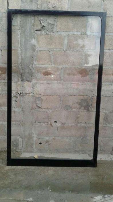 Porta de alumino