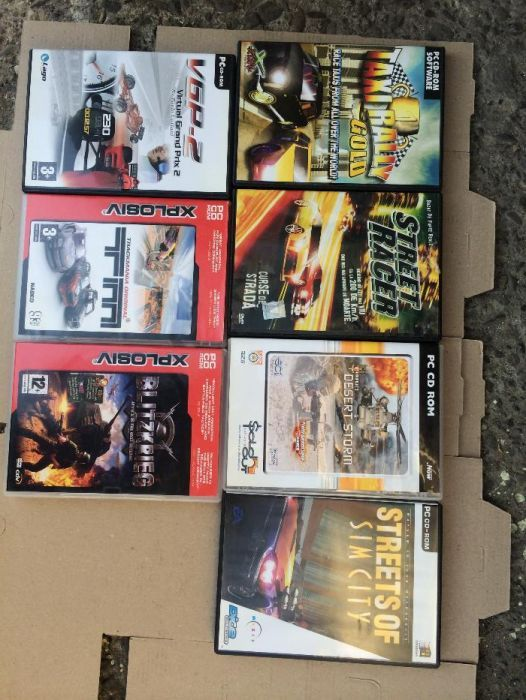 Jocuri Pentru PC CD-ROM Diverse